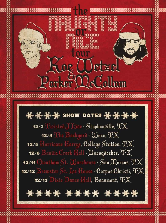 Parker McCollum & Koe Wetzel | Dixie Dance Hall | Outhouse